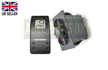 REAR WORK LIGHT SWITCH & SWITCH 12V (PART NO. 701/58827, 701/60002)